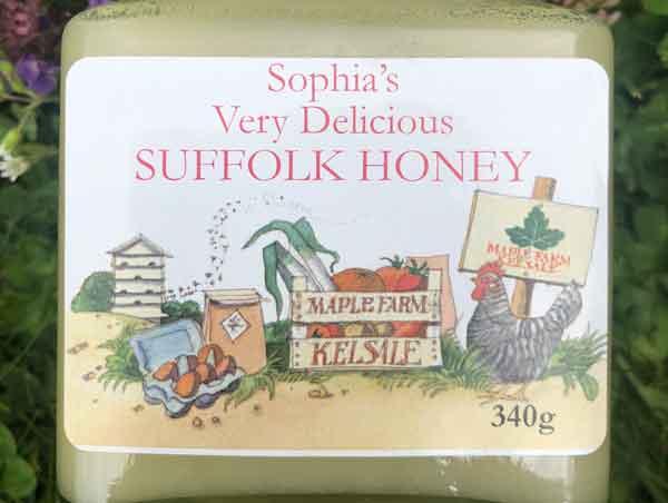 Click to zoom in on Sophias Very Delicious Suffolk Honey