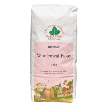 click to find out more about and buy wholemeal flour
